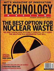 A New Vision for Nuclear Waste