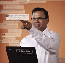 The real-time man: Google's Amit Singhal is mining social networks to generate up-to-the-second search results.