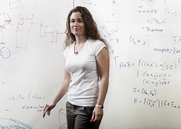 Fail-safe:June Andronick uses mathematical analysis to create crash-proof software.