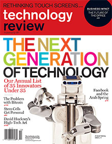 Innovators Under 35 | 2011