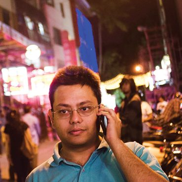 Guha found a way to protect privacy while delivering customized ads to your phone.