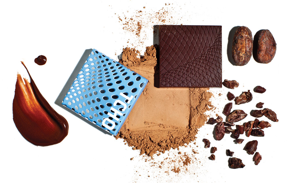 Tcho chocolate collage
