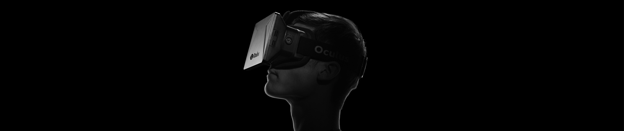 Above: A version of the Oculus Rift headset was made available to developers last year.