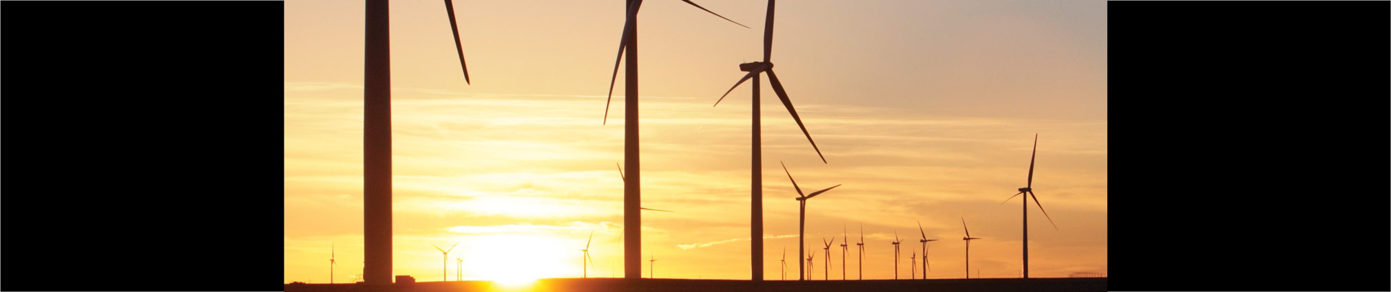 Turbines at this wind farm north of Limon, Colorado, collect and transmit massive amounts of data.