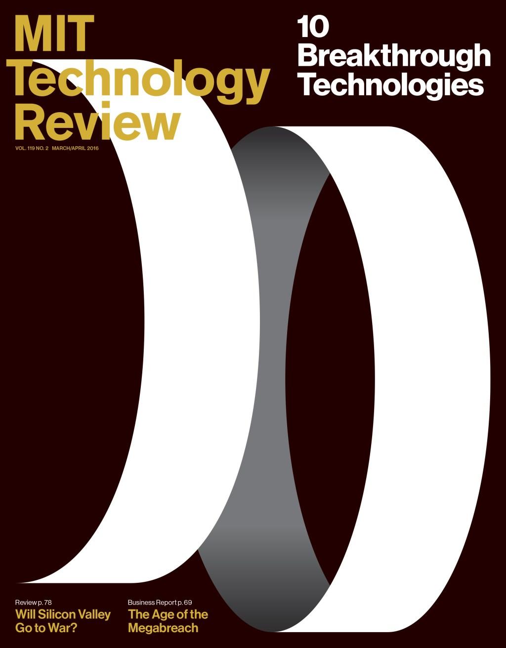 10 Breakthrough Technologies 2016