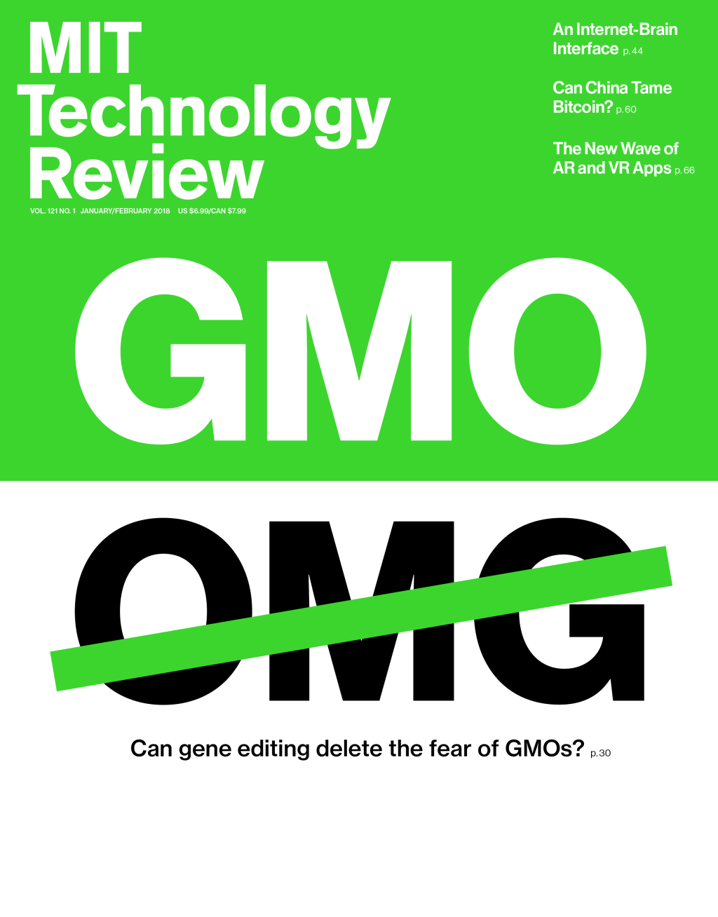 Can gene editing delete the fear of GMOs?