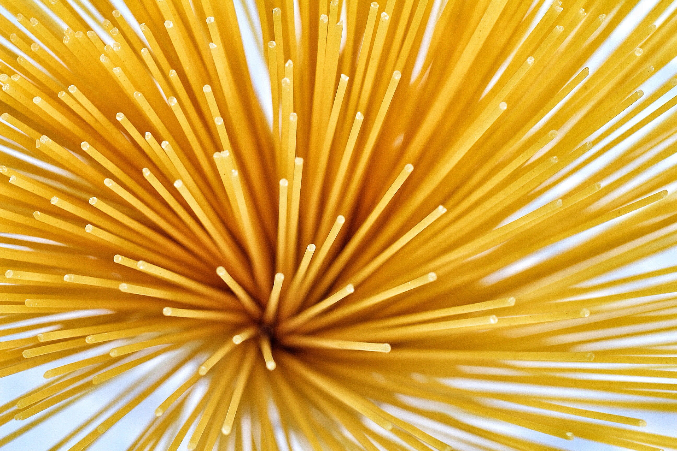 Photo of dry spaghetti