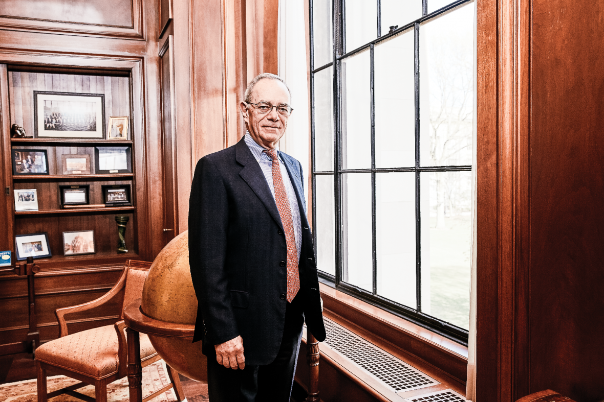 Photo of MIT president L Rafael Reif