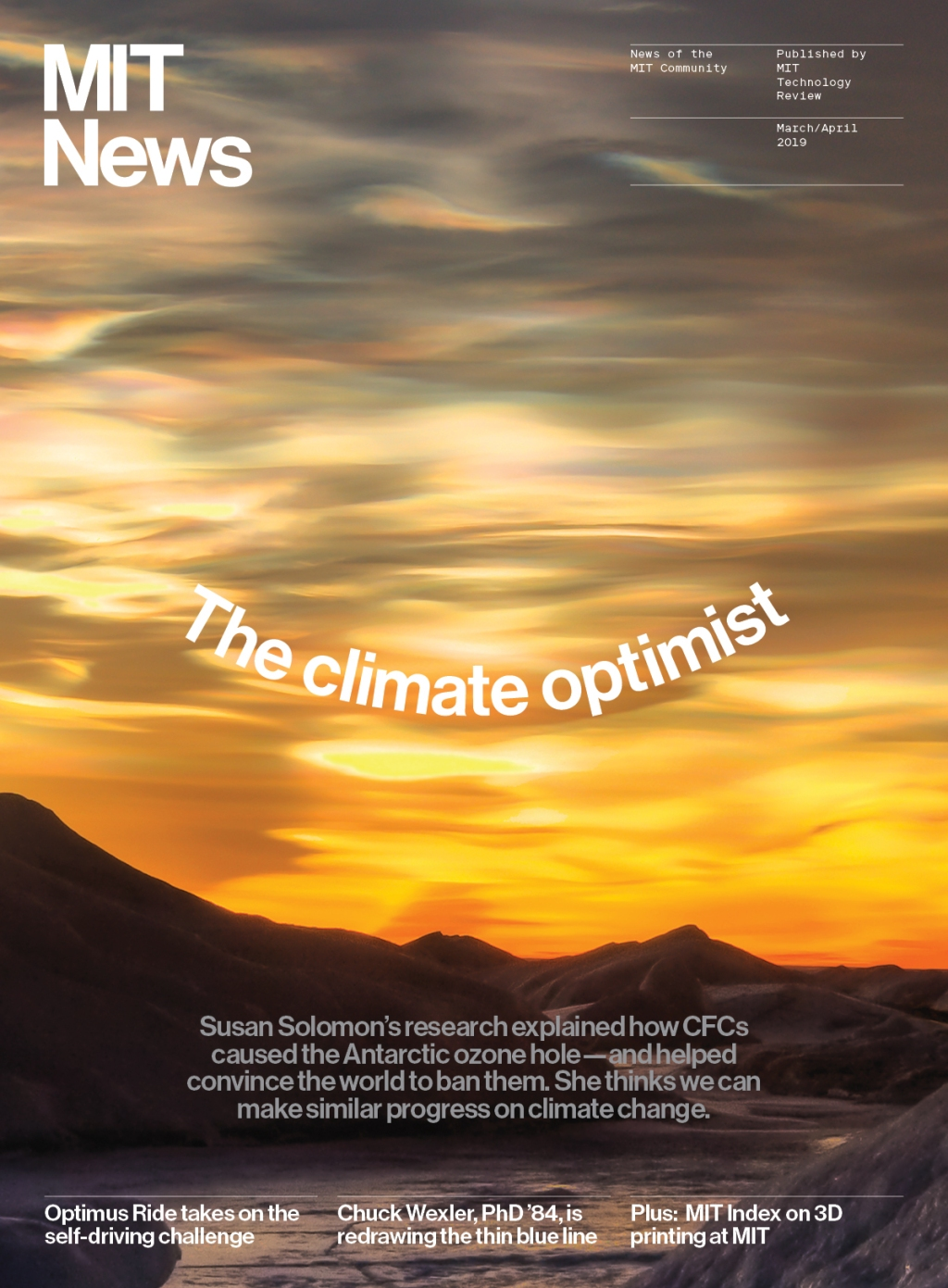 The climate optimist