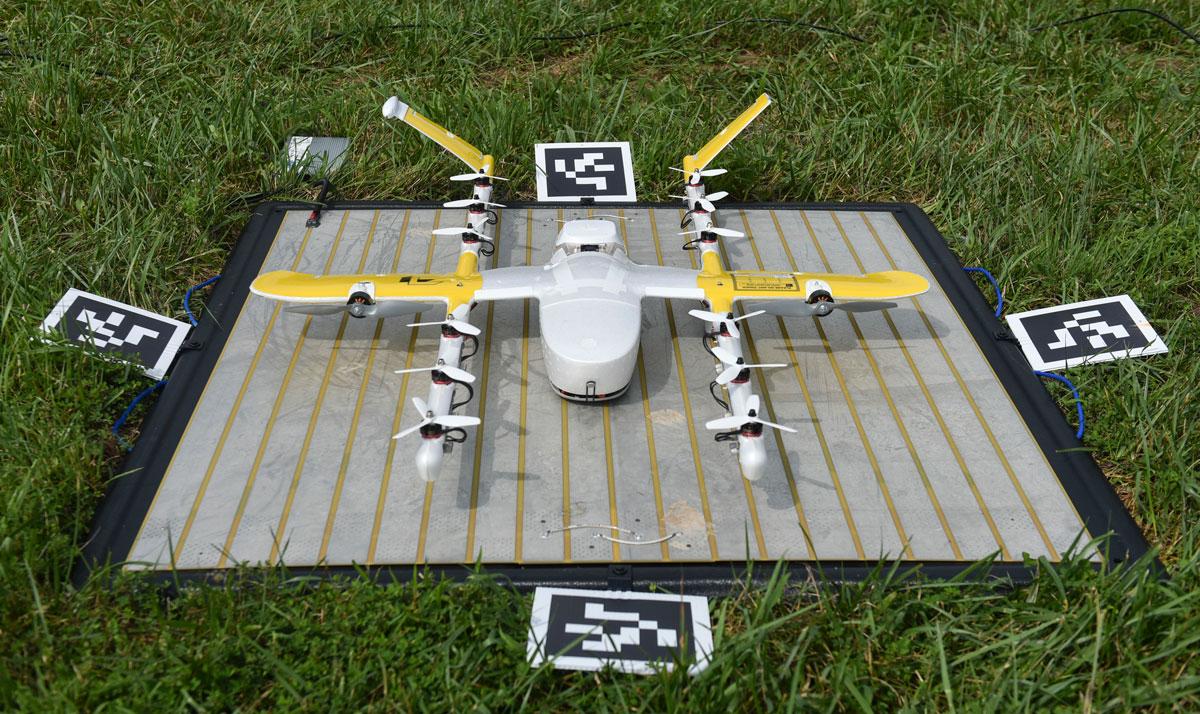 Alphabet drone