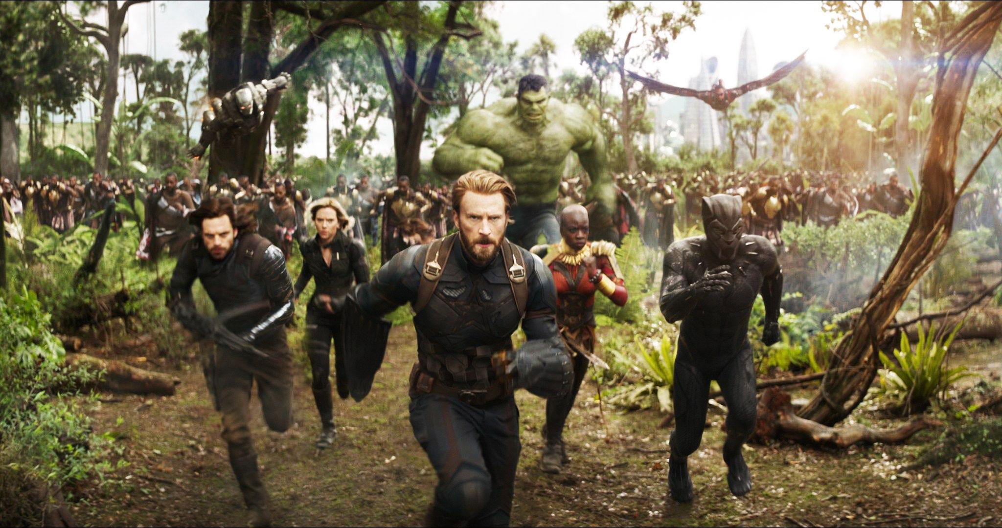 A movie still from Marvel's Avengers: Infinity War