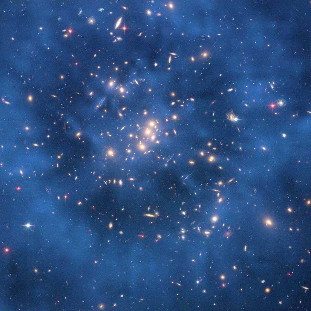 An image of faint galaxies