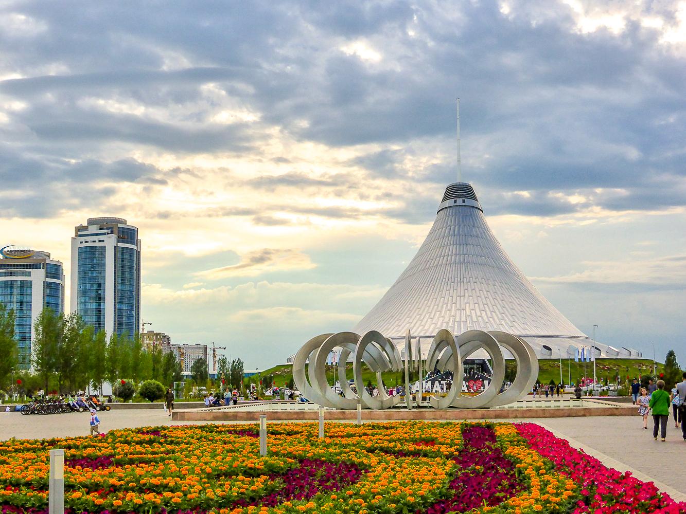 Nur-Sultan, Kazakhstan's capital city.