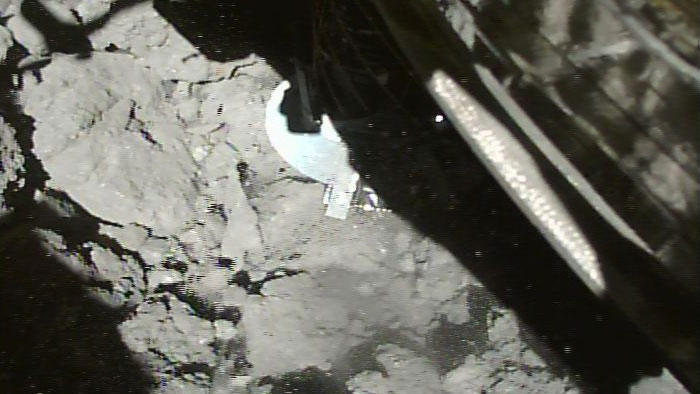 Hayabusa2 landing on Ryugu