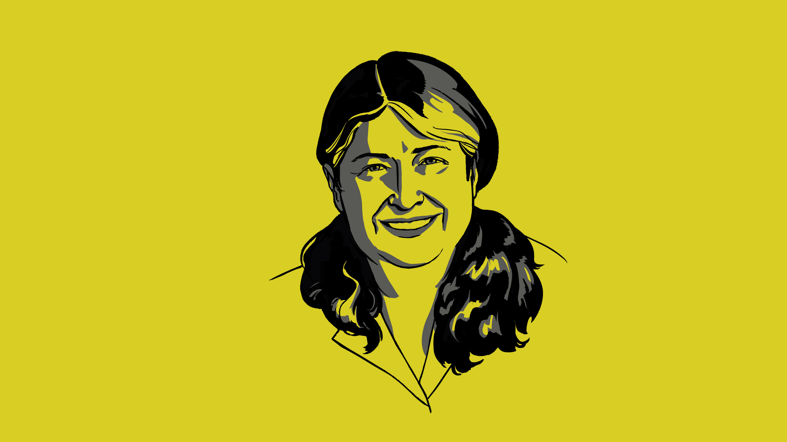 Illustration of Radia Perlman