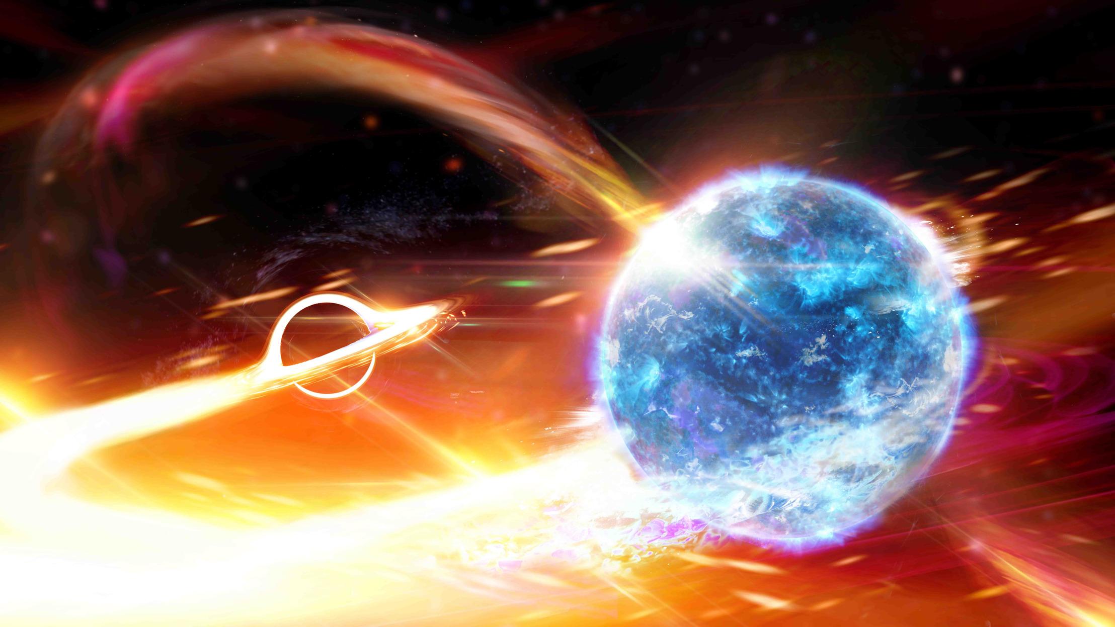 black hole neutron star merger