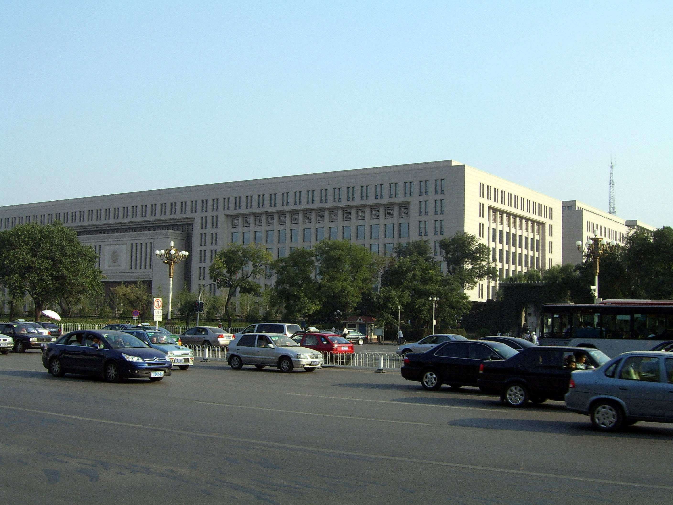 Headquarters of China's Ministry of State Security
