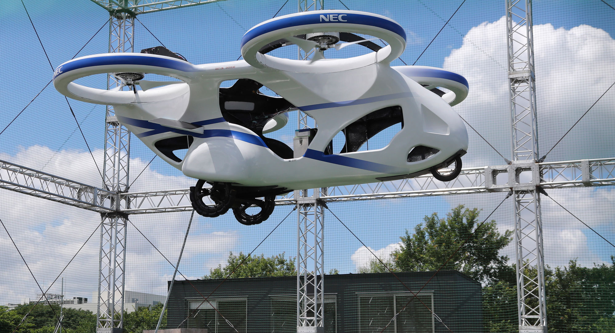 A Japanese Flying Car Has Successfully Made Its First Test Flight Mit Technology Review