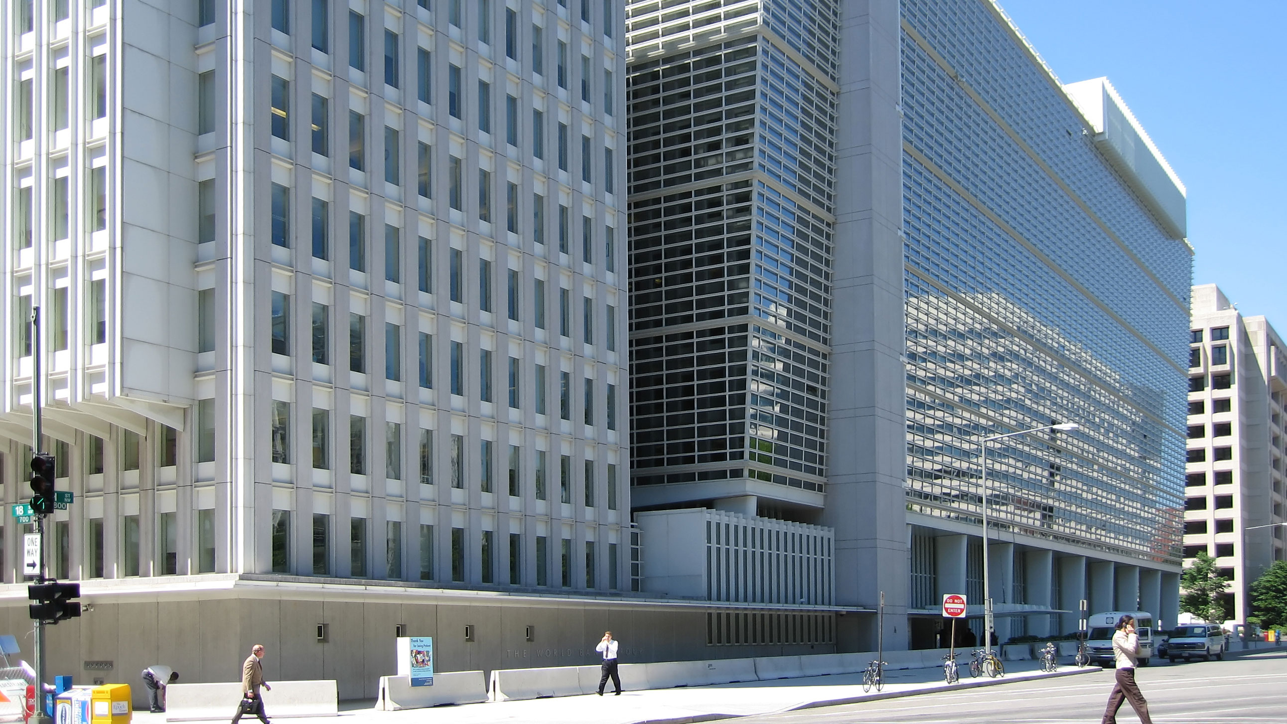 World Bank Group building in Washington DC