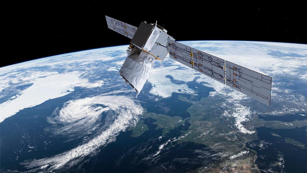 The European Space Agency's Aeolus satellite