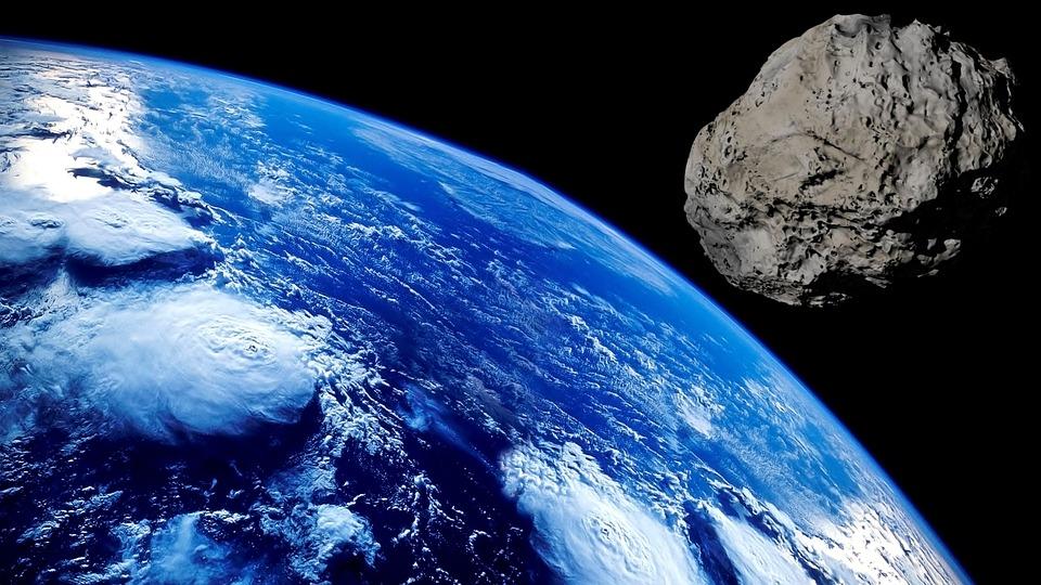 A near-Earth asteroid.