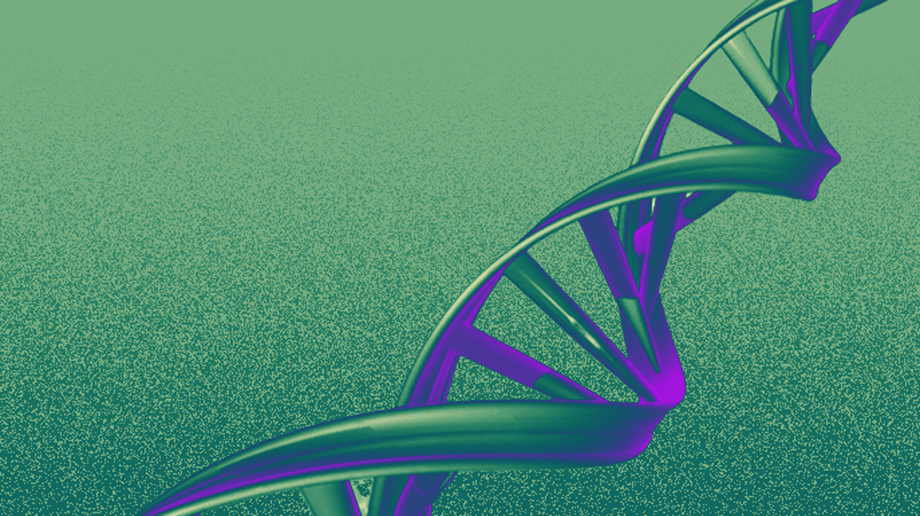 Conceptual illustration of DNA double helix