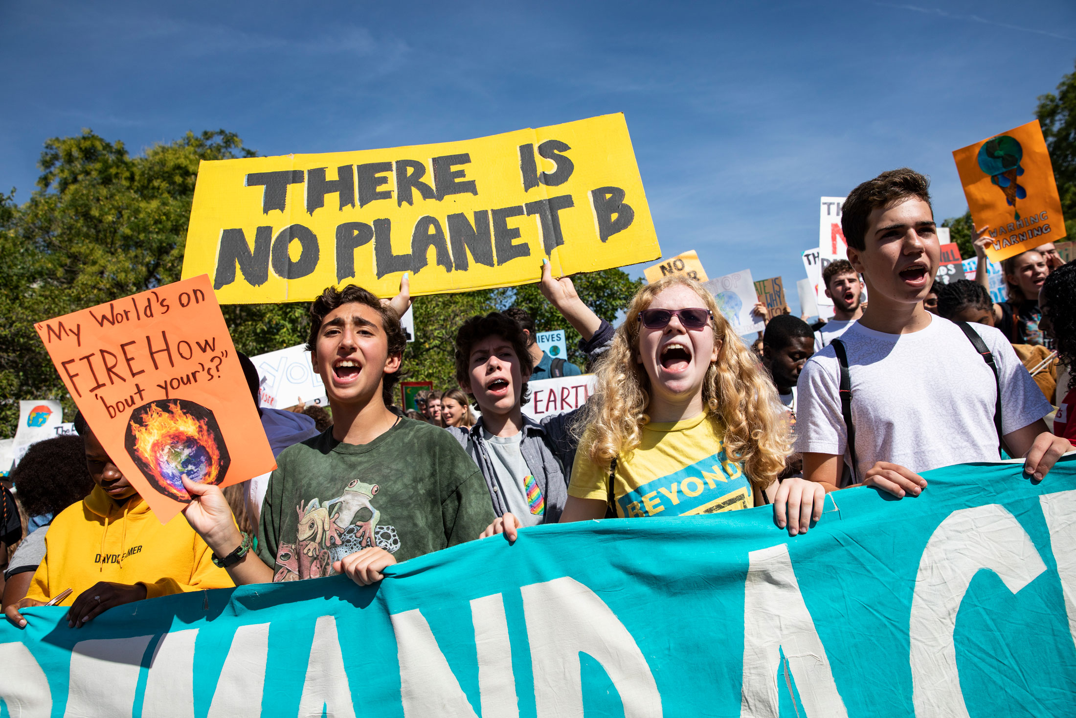 Climate activism is now a global movement, but it's still not enough | MIT  Technology Review