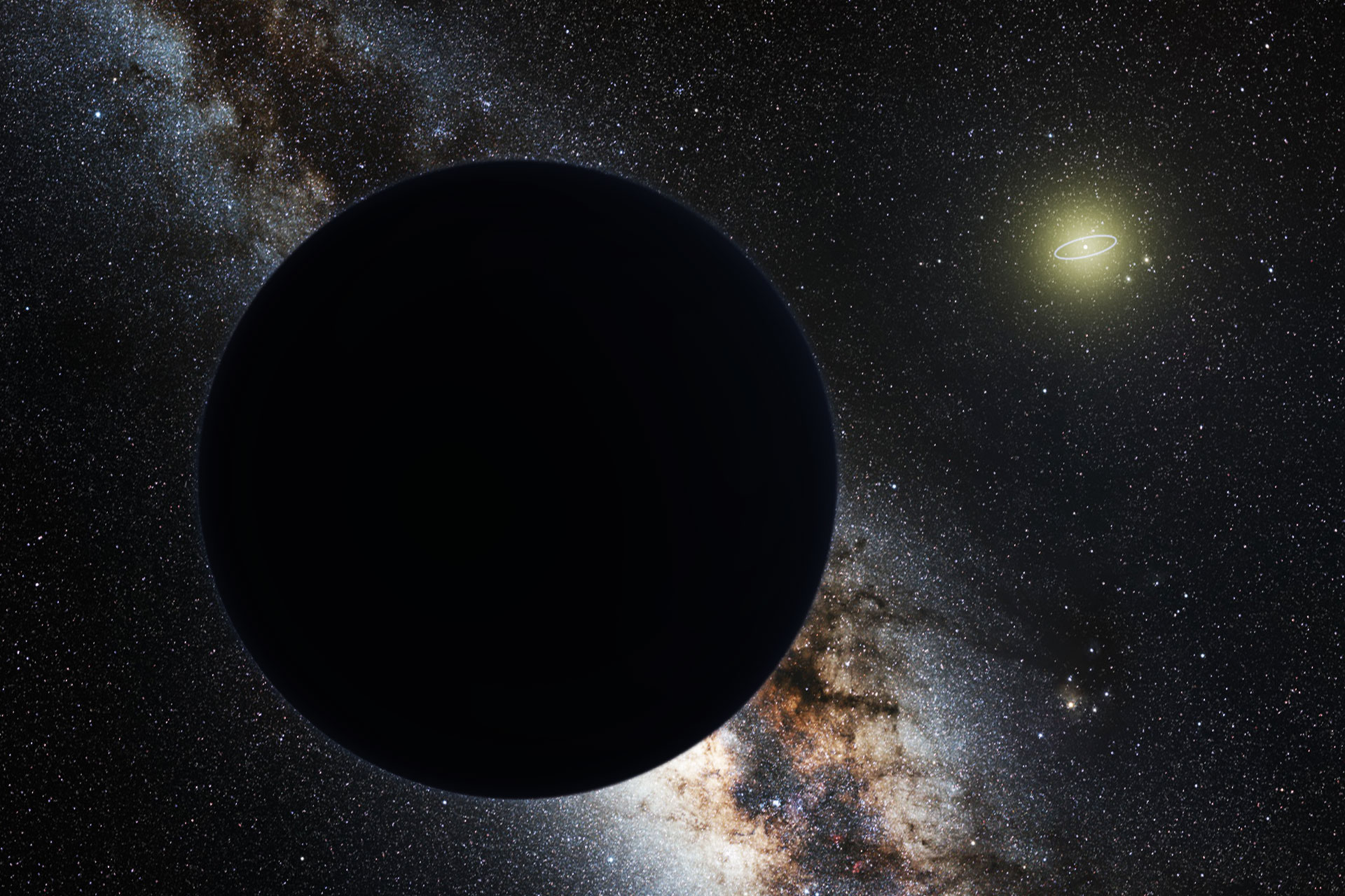 Artist's impression of Planet 9
