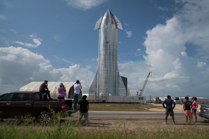 SpaceX's prototype rocket Starship