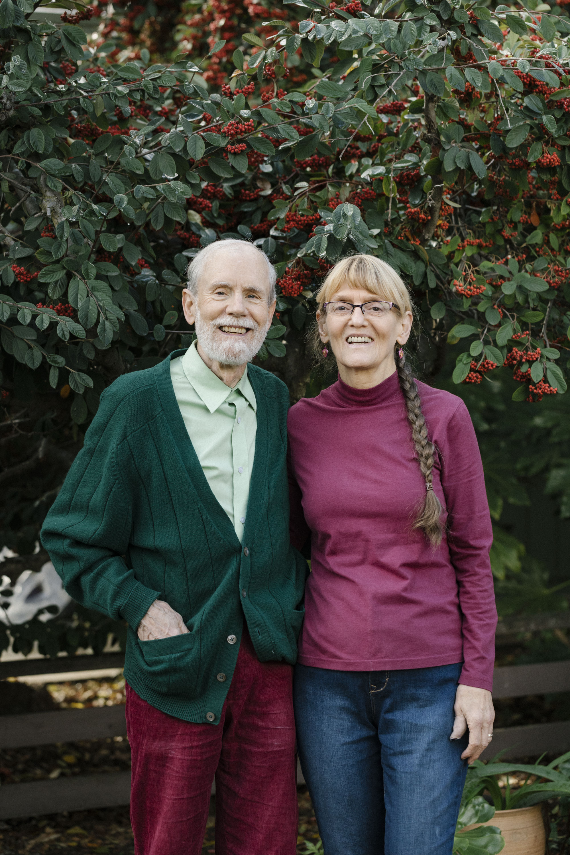 Bruce Heflinger '69, SM '71, PhD '80, and Mary DeMasters