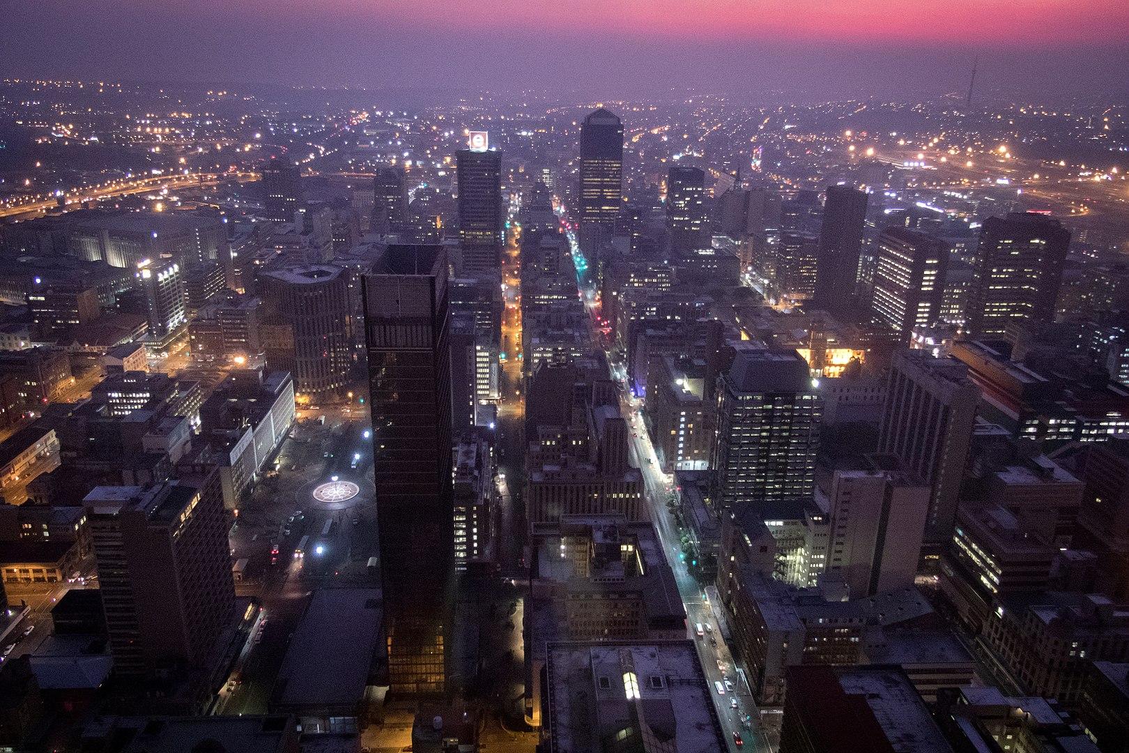 Johannesburg's inner city