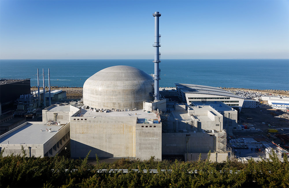 EDF's Flamanville nuclear plant.