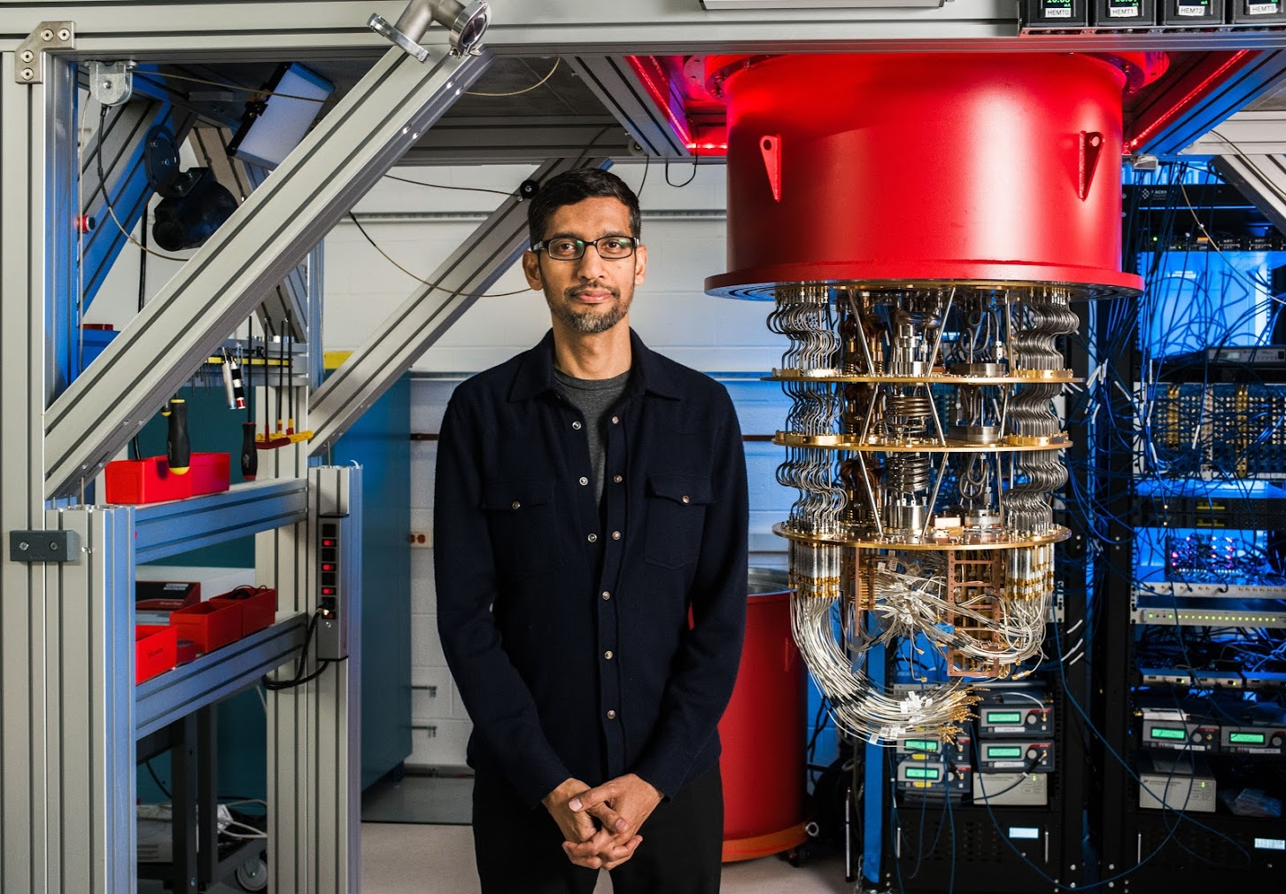 Google CEO Sundar Pichai on achieving quantum supremacy | MIT ...