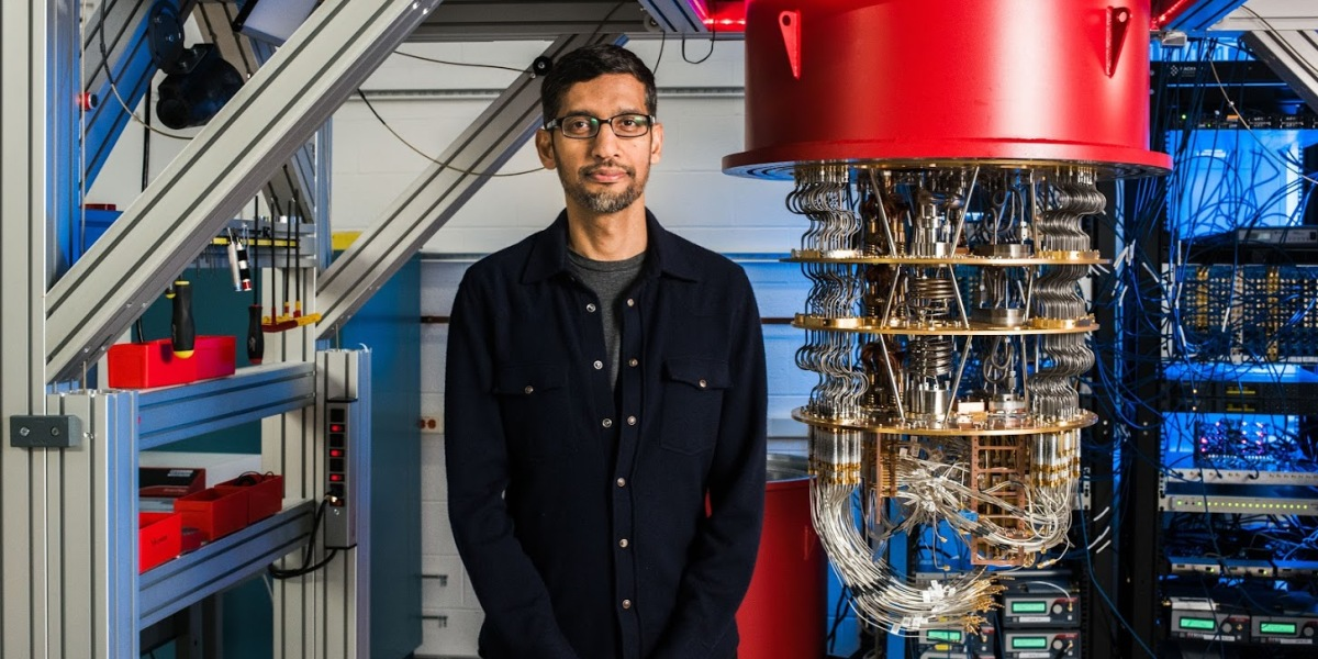 Google CEO Sundar Pichai on achieving quantum supremacy