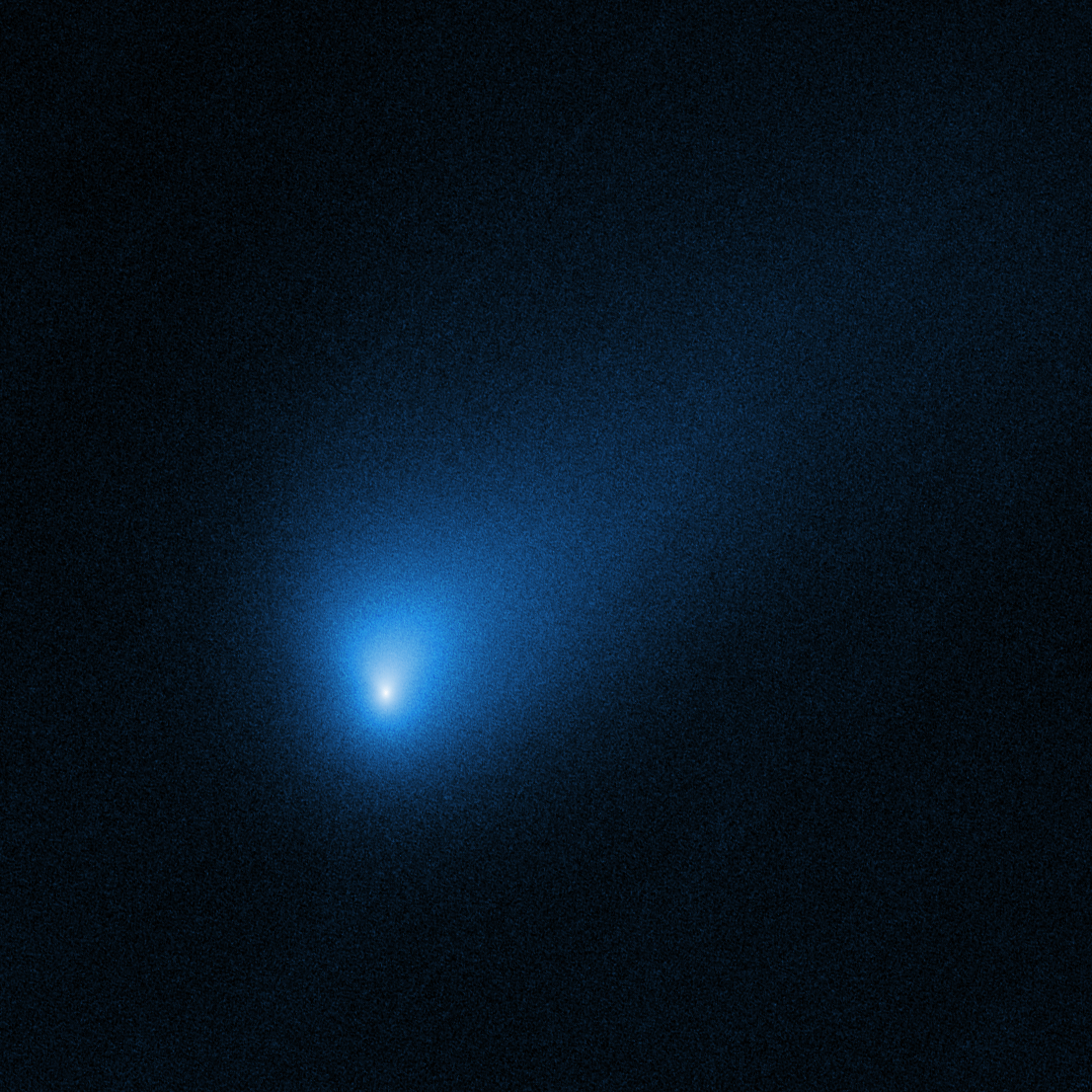 2I/Borisov, seen by Hubble.