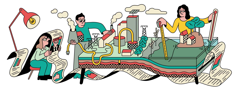 Conceptural illustration