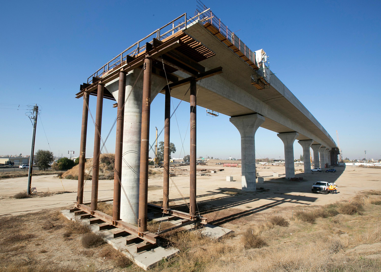 California high-speed rail line.