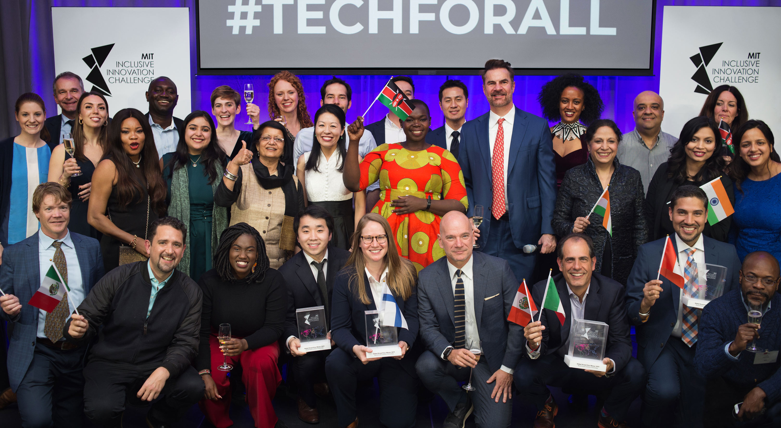 Winners of MIT Inclusive Innovation Challenge