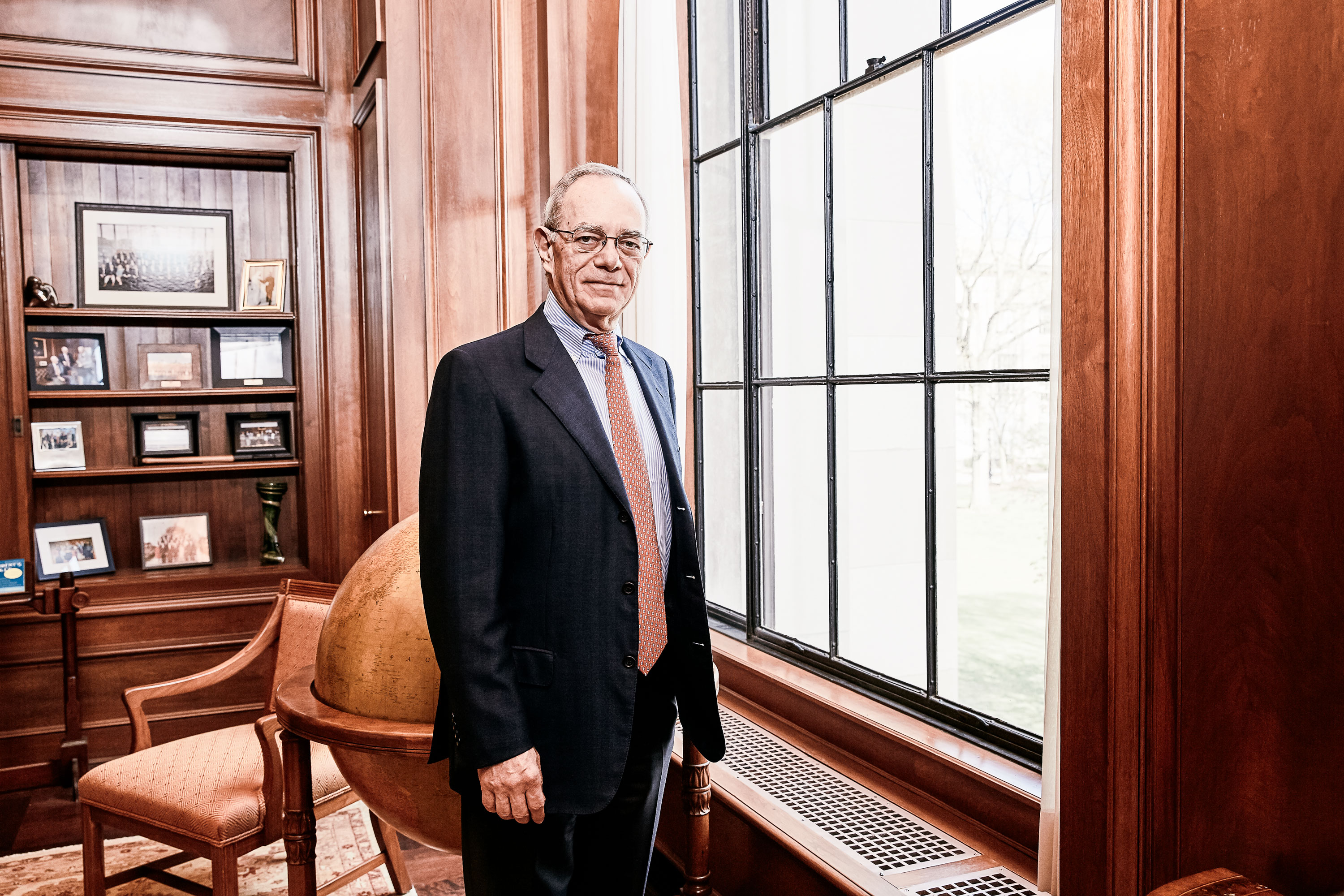 MIT President in his office