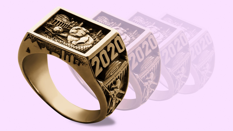 2020 Brass Rat class ring