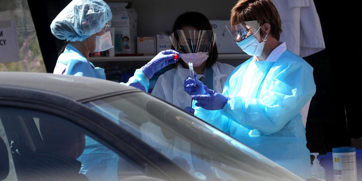 US coronavirus testing is slowly ramping up, but way too late