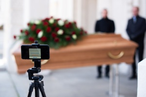 livestream of funeral