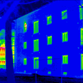 building thermogram example