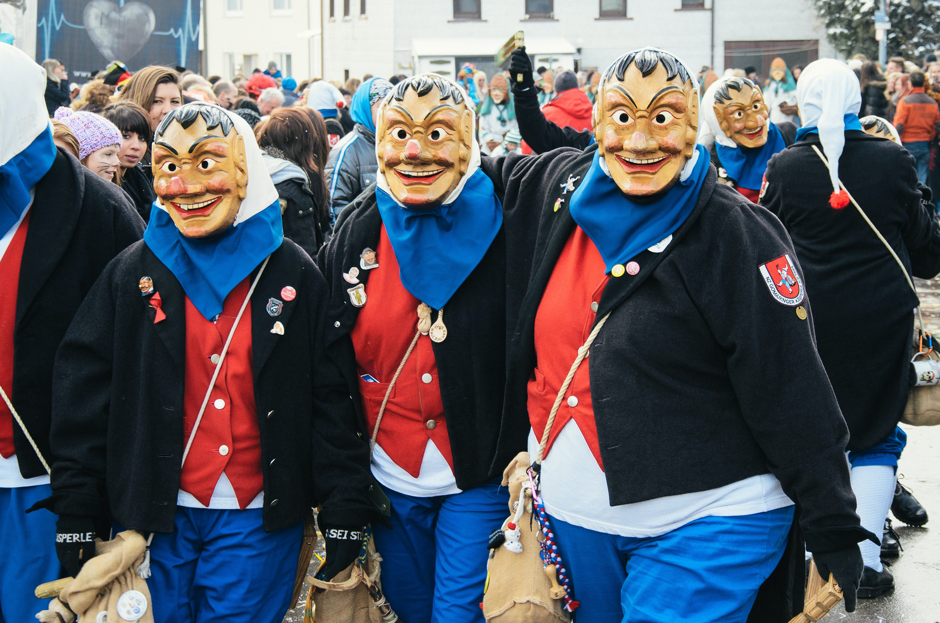 Karneval at Sickengen, Germany