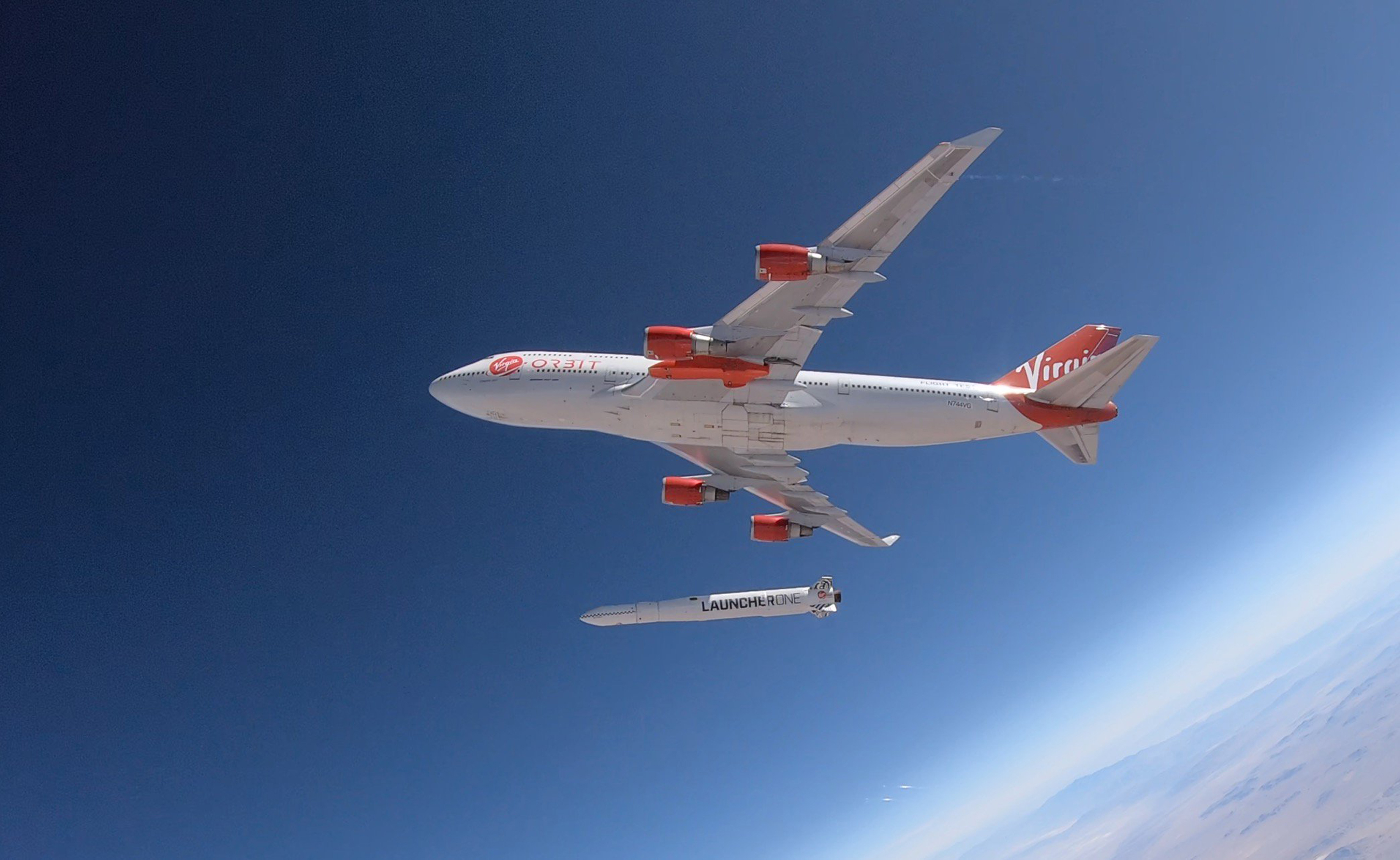 Virgin Orbit launcher