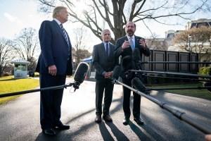 Trump, Fauci and Azar