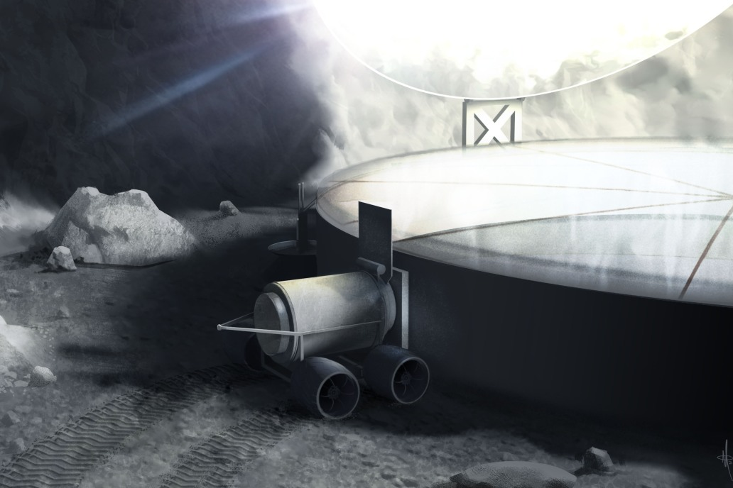 Here's how we could mine the moon for rocket fuel