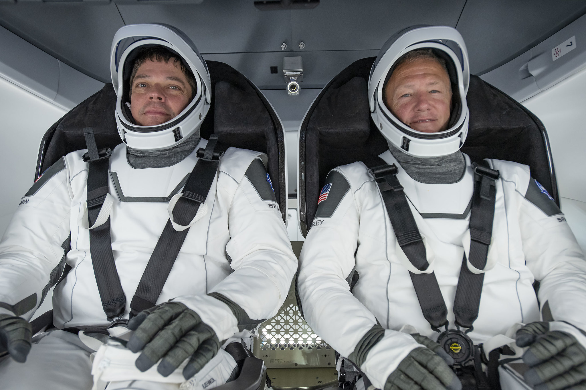NASA astronauts Robert Behnken and Douglas Hurley will be the first astronauts to fly up into orbit aboard a commercial launch.