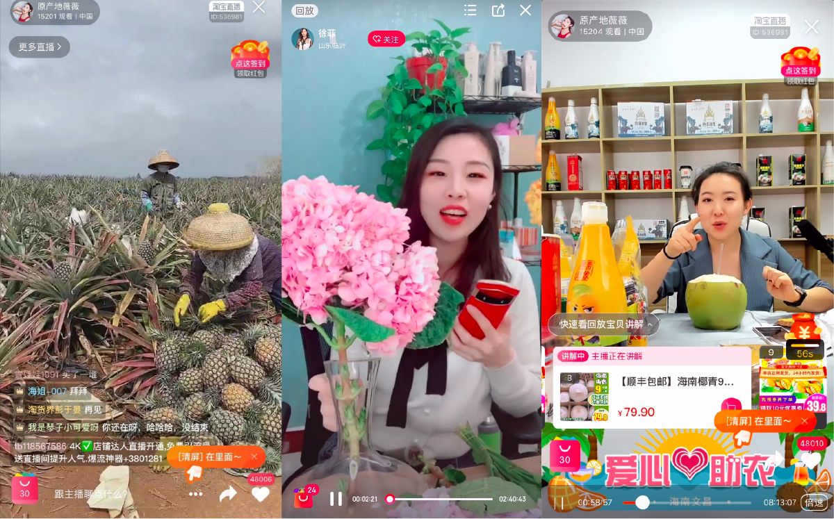 China's rural live-streamers