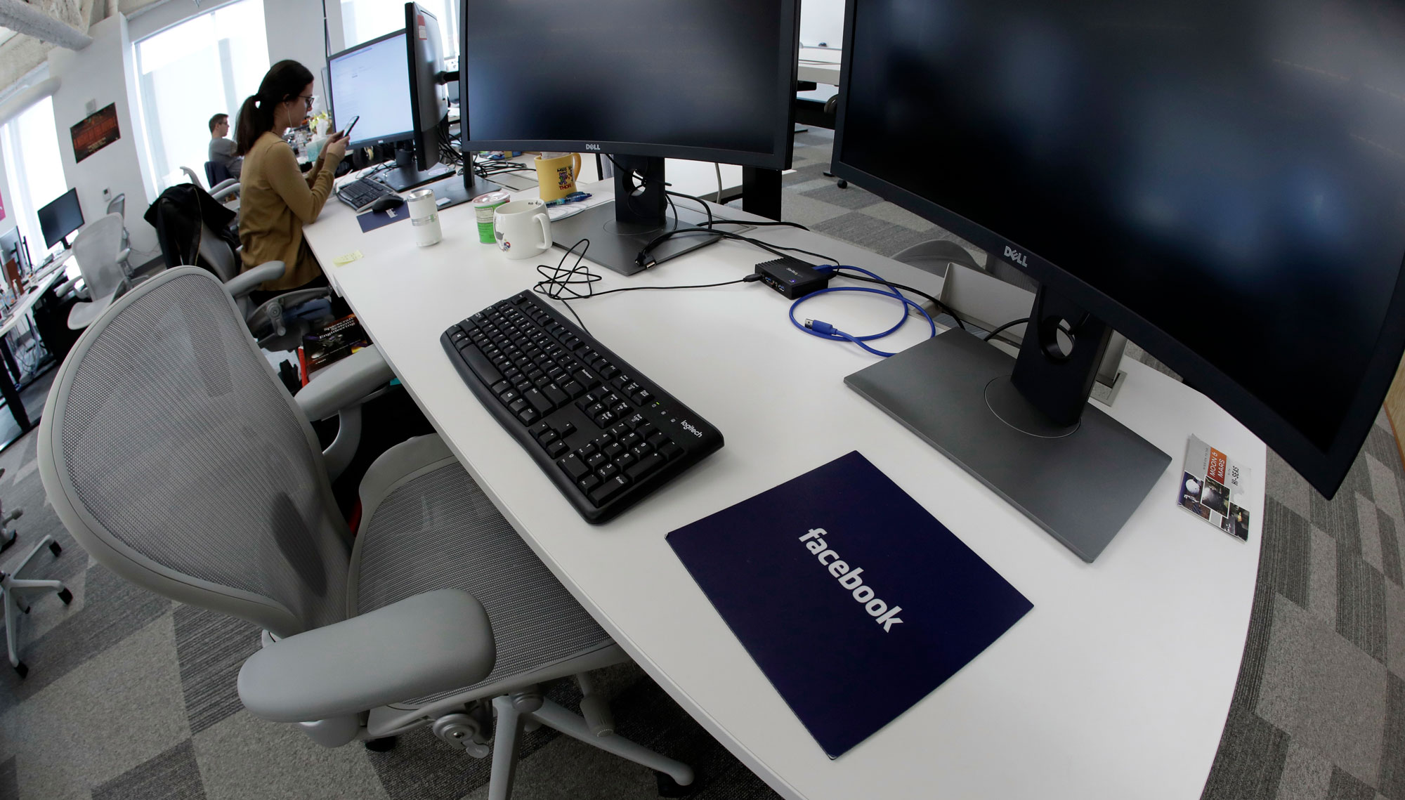 A Facebook office